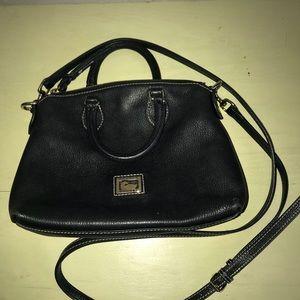 Dooney and Burke black cross body purse